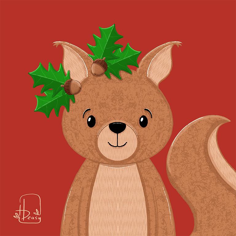 Acorn Squirrel